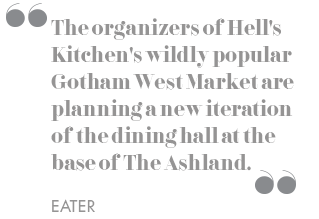 The organizers of Hell's Kitchen's wildly popular Gotham West Market are planning a new iteration of